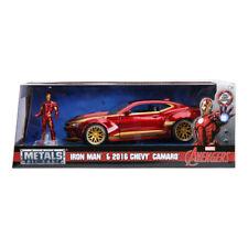 Jadatoys 253225003 - Marvel Ironman 2016 Chevy Camaro SS 1 24