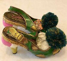 Irregular Choice Flamboyant Vampire Rare Green Ice Cream Cone Shoes UK4 /EU37
