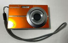 Used Olympus FE-3010 12mp Digital Camera w/ Wrist Strap Battery & Charger