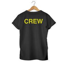 Crew Bar Staff Festival Security Pub Nightclub Event Workwear T-Shirt / Top