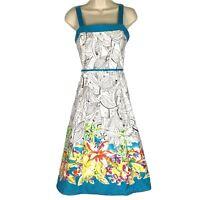 Madison Leigh Dress Women's Size 8, Sundress, Sleeveless, Floral Print