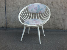 Circle Chair Speichenstuhl Yngve Ekström Vintage Sessel 60er Mid century