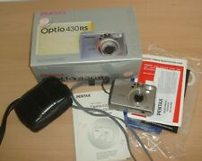 Pentax Optio 430RS Digital Camera