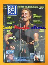 rivista RARO 216/2009 Bruce Springsteen Osanna Pino Donaggio No cd