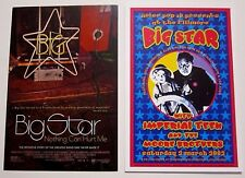 Big Star Fillmore Handbill Card Dennis Loren and Big Star Promo Postcard Lot
