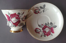 Windsor Bone China - England - Red rose - Immaculate