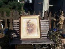 fred stone limited edition 576/950 northern dancer signed print  with   coa