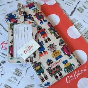 CATH KIDSTON Robot Travel Document Holder Wallet Luggage Tag BNWT Kitson Kidson