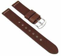 Minott Ersatzband Uhrenarmband XXL Leder Band 23326S