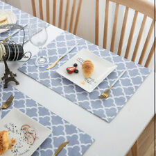 New listing Homcomoda Placemats for Dining Table Set of 6 Waterproof 740 Box-S