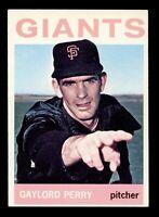 1964 Topps Baseball #468 Gaylord Perry San Francisco Giants - SBID004