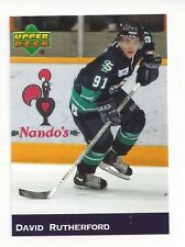 2004-05 South Surrey Eagles (BCHL) David Rutherford (Belfast Giants) white