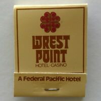 Wrest Point Hotel Casino A Federal Pacific Hotel 410 Sandy Bay Matchbook (MK29)