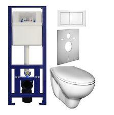Vorwandelement wand wc set WC - Element Hänge WC Spülkasten alles dabei + Sitz