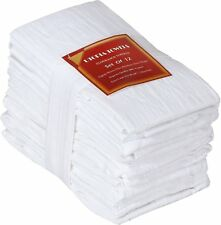 Utopia Kitchen 12 Pack Flour-Sack Towels - 100% Pure Ring Spun Cotton Kitchen