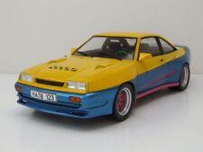 "Opel Manta B Mattig ""Manta Manta"" 1991 gelb/blau, Modellauto 1:18 / MCG"