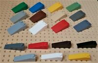 LEGO - SLOPE 18% 4 x 1 & 4 x 2. Parts 60477 & 30363, Choose Colour & Qty - SL3