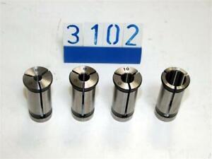 Set of 4 Collets / Bushes (3102)