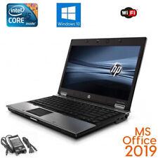 HP Elitebook Laptop 14 inch Core i5 Laptop 8GB RAM 500GB HDD Win10 MS Office