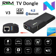 RKM V3 Rockchip RK3328 Quad Core 2G 8G Android 7.1 TV Dongle Stick Media BT WiFi