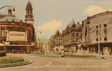 Victoria Hall & Commercial Street From Wards End, HALIFAX, Yorkshire