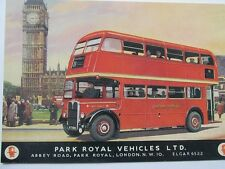 Pack of 15 New Vintage Ad Gallery Postcards - London RT Type Bus