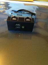 Dell Dimension 3000,2400 Front USB & Audio Panel C0094 with cables (Quantities)
