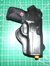 Ruger P345 OWB Leather /&  Nylon Thumb Break Pancake Belt Holster