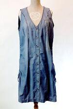 Jeanskleid Sommerkleid blau N4 MARC CAIN Gr.40 jeansblau Kleid LUXERY STYLE