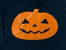 Pumpkin Jack o lantern bats Halloween black mens graphic tee t shirt Medium Med