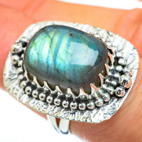 Large Labradorite 925 Sterling Silver Ring Size 6 Ana Co Jewelry R45378F