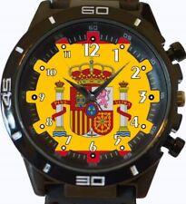 Drapeau de l'Espagne nouveau GT Série Sports Bracelet Montre