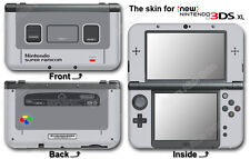 Super Famicom Classic Edition Skin Sticker Decal Cover for NEW Nintendo 3DS XL