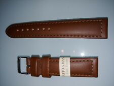 MORELLATO for breitling cuoio toscano, brown strap 20-18 mm (TOP QUALITY)