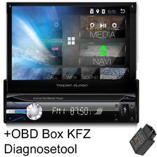 Tristan Auron Android Autoradio mit Navi Navigation Bluetooth OBD+ 1 DIN MP3 USB