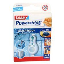 Tesa Powerstrip Waterproof - max.2kg - Power Strips - 6 Klebestreifen wasserfest