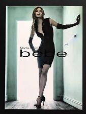 2006 Vintage Print Ad BEBE Woman's Fashion Couture Mischa Barton Image Photo