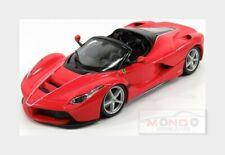 Ferrari Laferrari Aperta Spider 2016 Red BURAGO 1:24 BU26022R