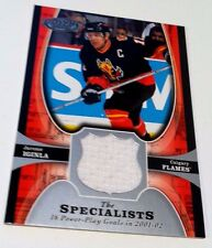 JAROME IGINLA 2005-06 UD Power Play Hockey THE SPECIALISTS Game Used JERSEY HTF
