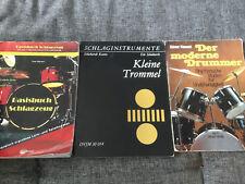 Drums Schlagzeug [3x Buch]Kiesant Moderne Drummer Börner Basisbuch Keune Trommel