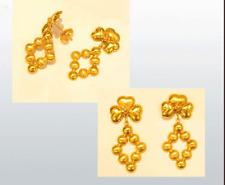 18k Gold  Heart Shape earring #34