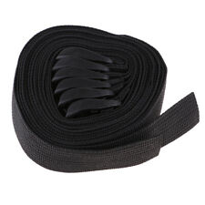 6pcs Outdoor Travel Strapping Cord Nylon Webbing Strap Luggage Tied Pull