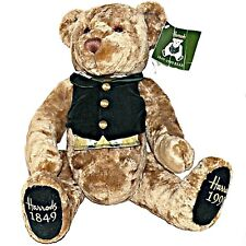 Limited Edition 1999 Harrods 150th Anniversary Christmas Teddy Bear Jointed Legs