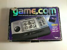 VINTAGE Tiger Game.Com Console WORKING w/box 3 GAMES RARE