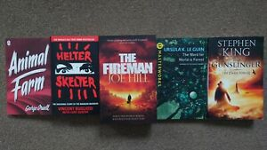 Animal Farm, Helter Skelter, The Fireman, The Gunslinger & Ursula K. Le Guin
