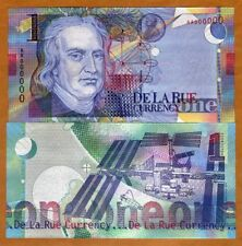De La Rue, 1 housenote, 1999, test / advertising note, Isaac Newton