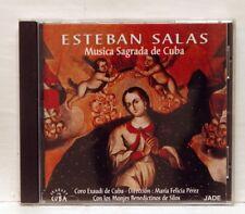 MARIA FELICIA PEREZ - ESTEBAN SALAS Musica Sagrada de Cuba JADE CD NM