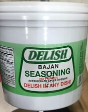 DELISH BAJAN SEASONING, NO PEPPER.1 LITRE TUB! free ship!