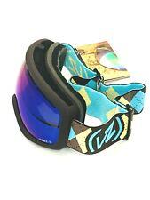 🔥VonZipper Adult El Kabong Snow Goggles, Stance - Gnarr-Gyle/Sky Chrome..