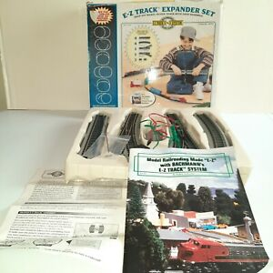 Train Tracks - Bachmann HO E Z Track Steel Alloy Train Expander Set 44494